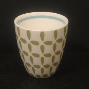 STARBUCKS 2010 New Bone China Green Coffee Cup/Mug
